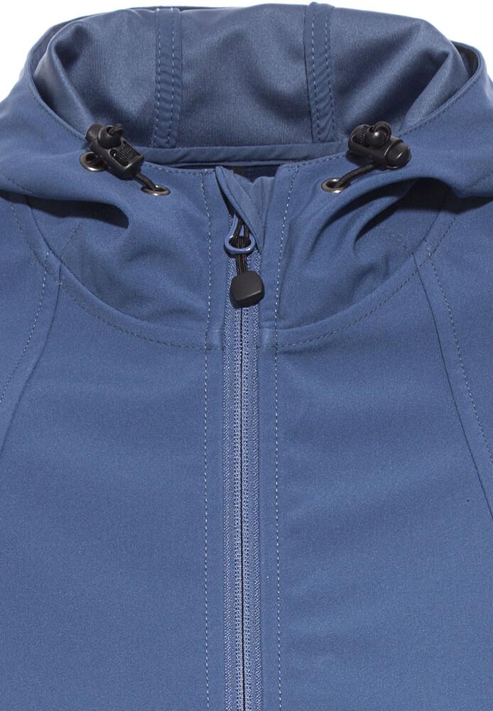 Veste softshell femme bleue